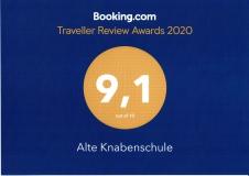Ausgezeichnet mit dem Booking.com Guest Review Award 2020
